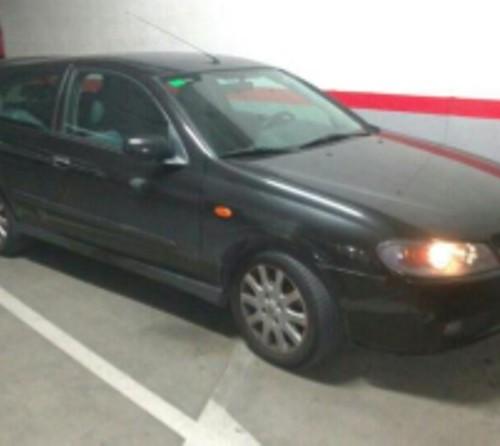 P0044 Nissan Almera negro front