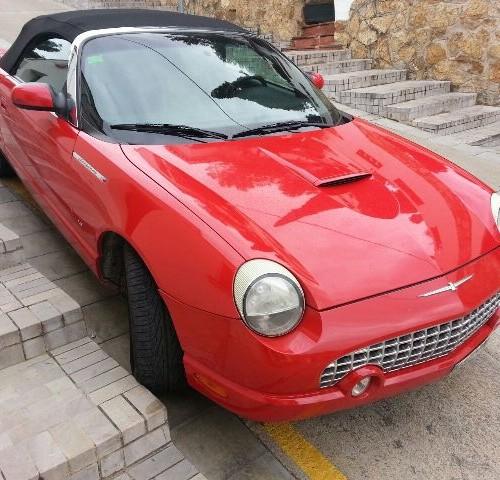 p0138 Ford Thunderbird rojo front