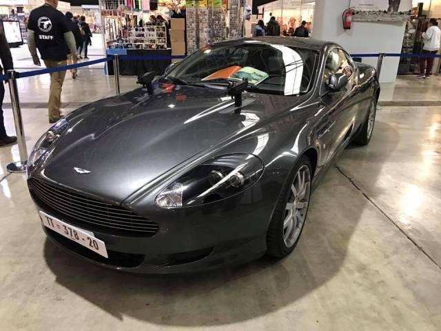 salon cine y series la farga expo coches aston martin 007 james bond barcelona tyreaction