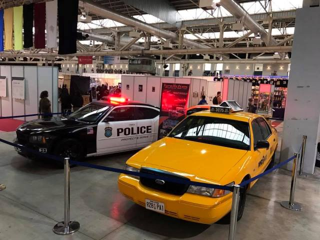 salon cine y series la farga expo coches ford crown victoria taxi nyc barcelona tyreaction