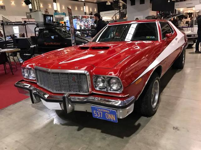 salon cine y series la farga expo coches gran torino tyreaction stursky hutch barcelona