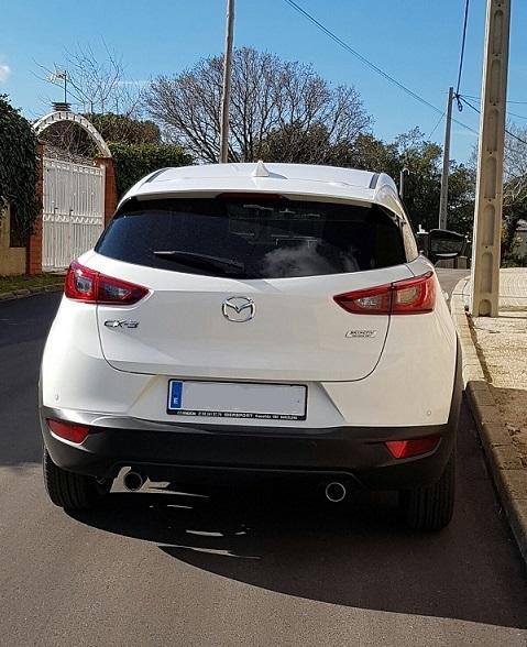P0044 Mazda CX5 tras