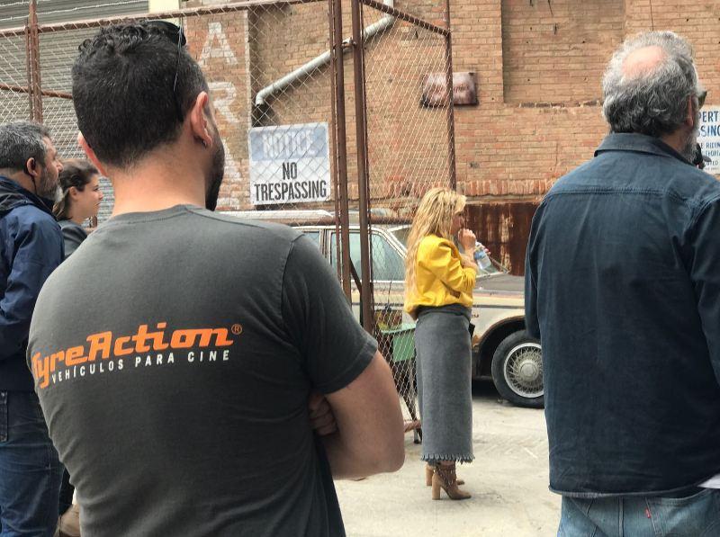 shakira videoclip me enamoré tyreaction vehículos de escena making of 6 jordi nebot