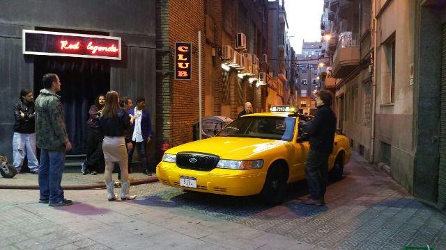 tyreaction alquiler taxi nyc vehiculos de escena heineken benicio del toro 2