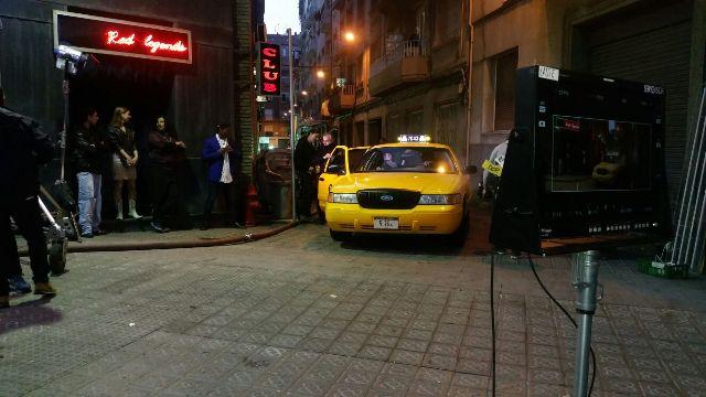 tyreaction alquiler taxi nyc vehiculos de escena heineken benicio del toro 3ç