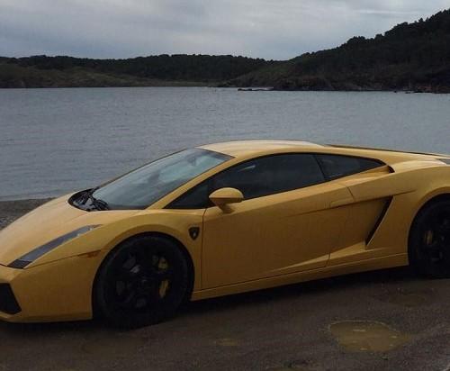 00001 Alquiler Lamborghini Gallardo barcelona amarillo