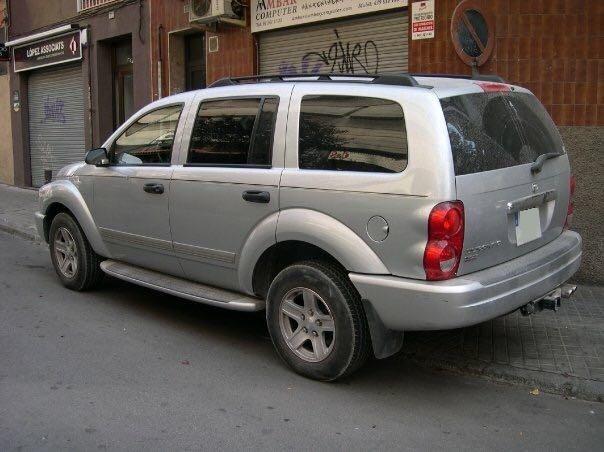 10580.2 Alquiler Dodge Durango plata