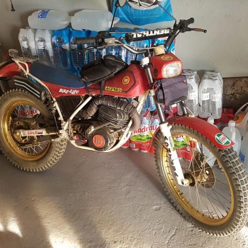 10580.4 Alquiler Montesa bike lift