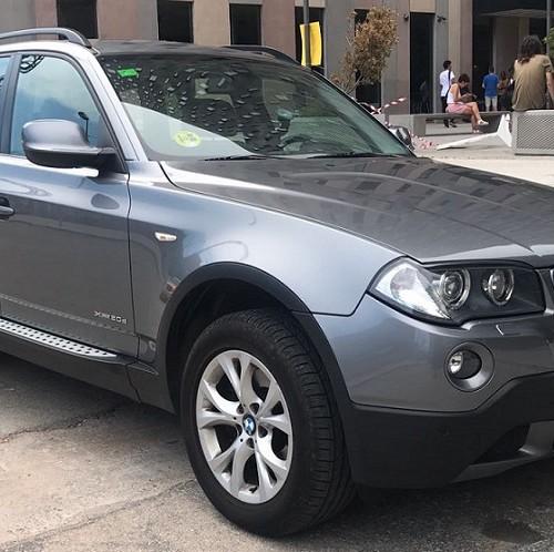 10585 Alquiler bmw x3 gris front