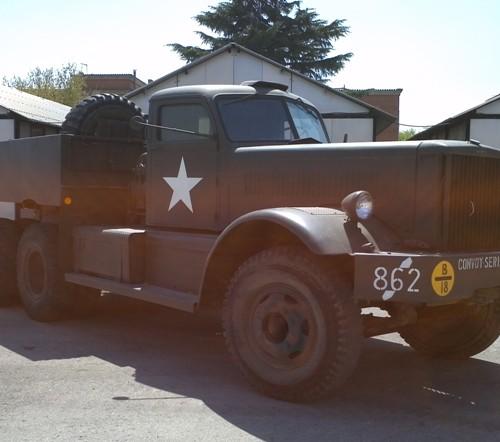 10418.1 Alquiler Camion militar peliculas cine vehiculos escena Diamond