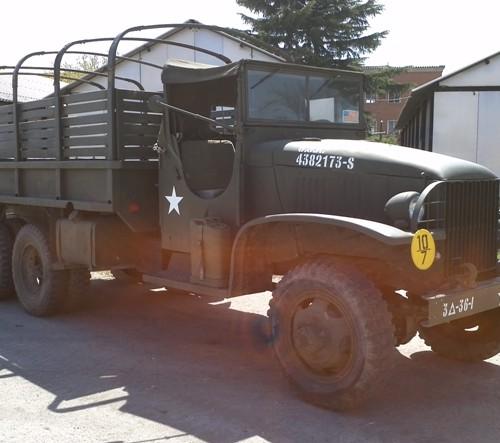 10418.1 Camion GMC  militar peliculas cine vehiculos escena