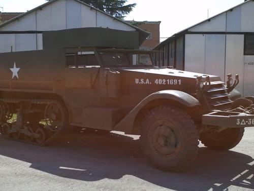 10418.1 alquiler Camion Semioruga militar peliculas cine vehiculos escena