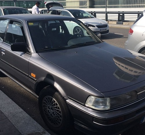 10589 Alquiler Toyota Camry gris For rent Prop Action Picture Vehicles in Spain Barcelona Madrid