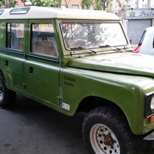 10591.4 Alquiler Land Rover 109 verde For rent Prop Action Picture Vehicles in Spain Barcelona Madrid