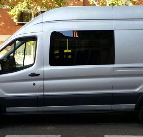 10591.6 Alquiler furgoneta ford transit gris