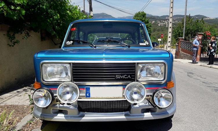 10592.4 Simca 1000 azul y gris frontal