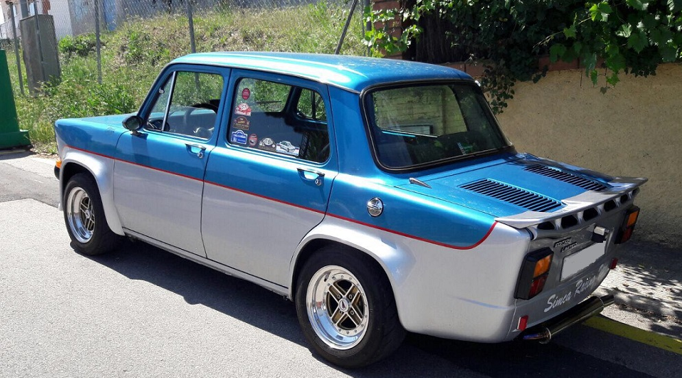 10592.4 Simca 1000 azul y gris lateral