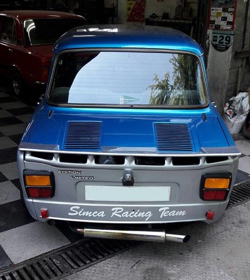 10592.4 Simca 1000 azul y gris