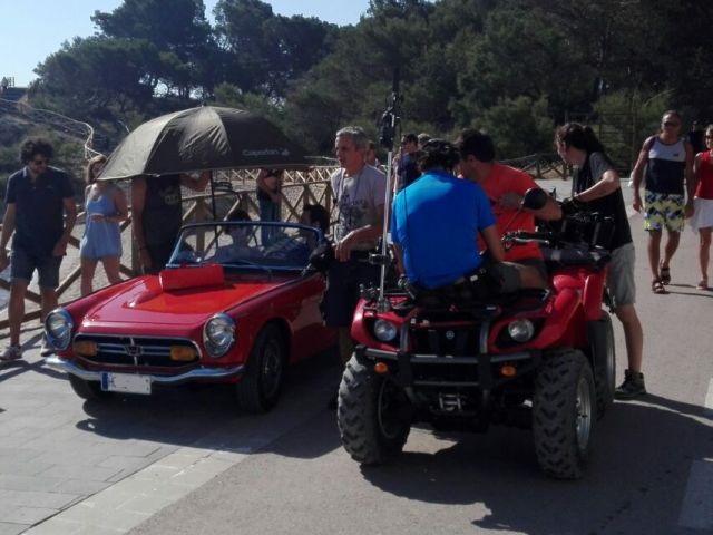 anuncio corteingles rebajas making off vehiculos de escena tyreaction 3