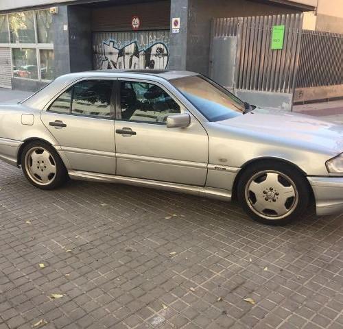 p0018 Mercedes clase C plata 2000 lat
