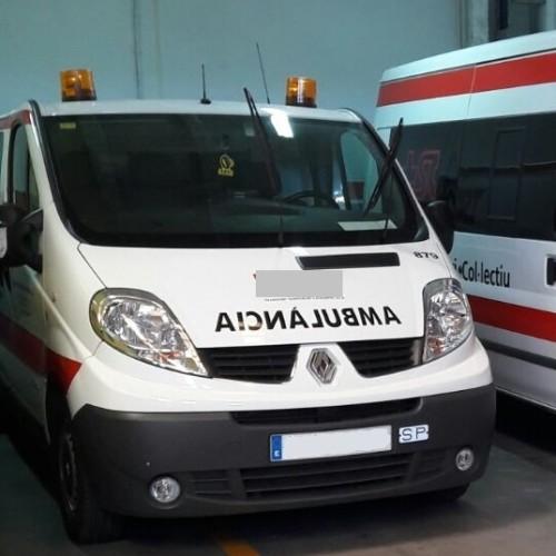 10318 Alquiler Ambulancia blanco