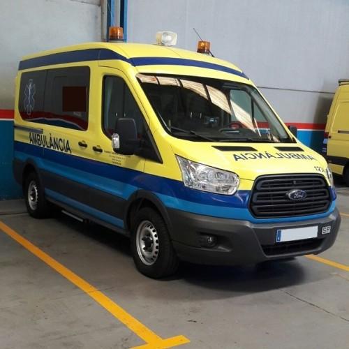 10318 Ambulancia azul y amarilla