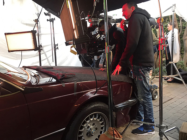 anuncio tous con gwyneth paltrow vehiculo de escena making of tyreaction bmw 1