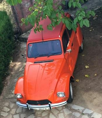 10605 Alquiler Citroen Dyane 6 color naranja