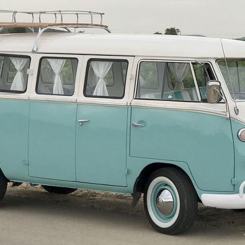 10610 Alquiler Volkswagen T1 azul