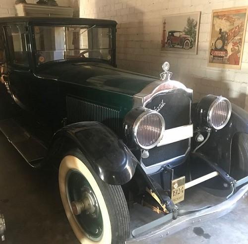 10648.5 Alquiler Packard 1924 verde lat