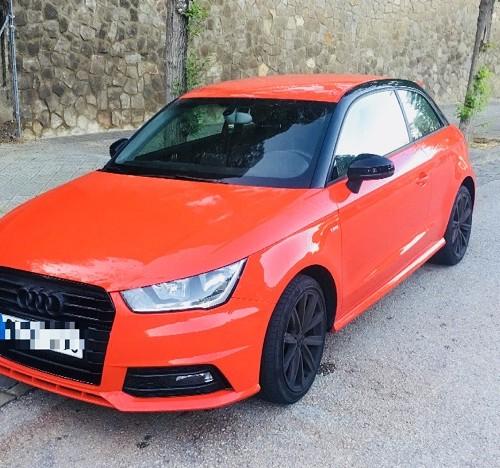 10652 Alquiler Audi A1 color rojo