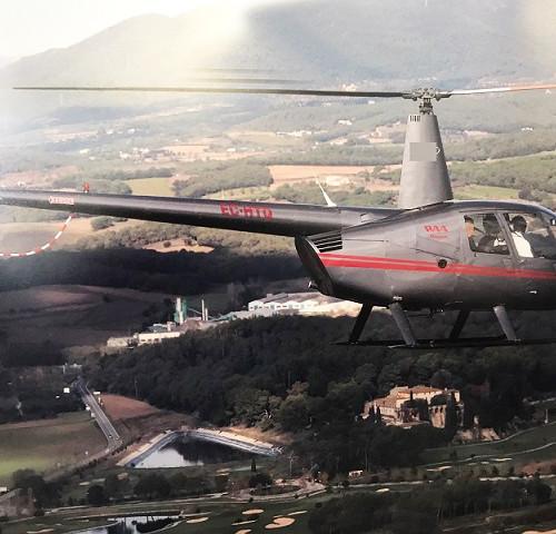 p0169 alquiler helicoptero barcelona tyreaction Robinson R44