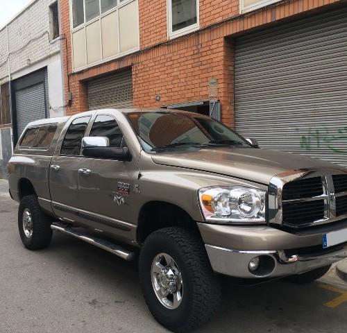 00002 alquiler Dodge ram pickup american tyreactio
