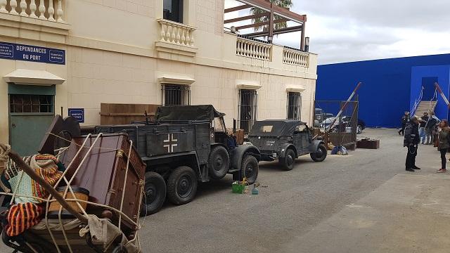 making of vehículos de escena rodaje picasso genius alquiler coches de epoca historicos  para peliculas tyreaction volkswagen kubel wagen militar nazi segunda guerra mundial 2