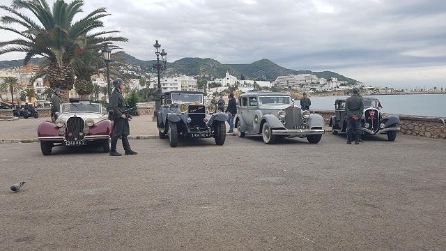 making of vehículos de escena rodaje picasso genius natgeo alquiler coches de epoca historicos  para peliculas tyreaction hispano suiza pakcard volvo nazis