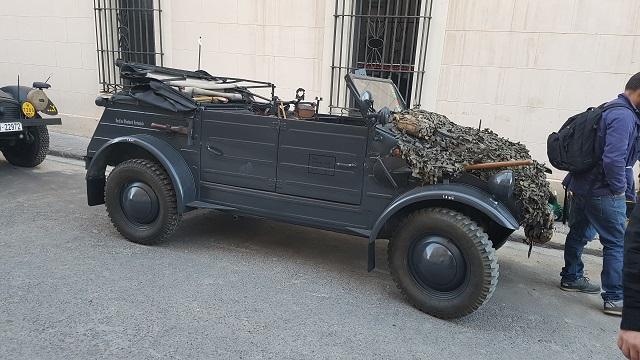 making of vehículos de escena rodaje picasso genius alquiler coches de epoca historicos  para peliculas tyreaction volkswagen kubel wagen militar nazi segunda guerra mundial