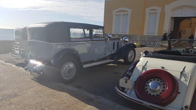 making of vehículos de escena rodaje picasso genius natgeo alquiler coches de epoca historicos  para peliculas tyreaction hispano suiza pakcard volvo 2