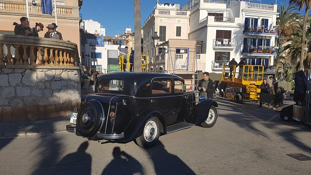 making of vehículos de escena rodaje picasso genius natgeo alquiler coches de epoca historicos  para peliculas tyreaction hispano suiza pakcard volvo general nazi