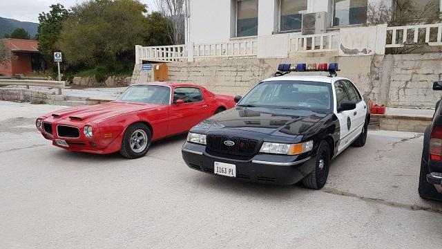 alquiler coche americano pontiac transam firebird peliculas escena anuncios