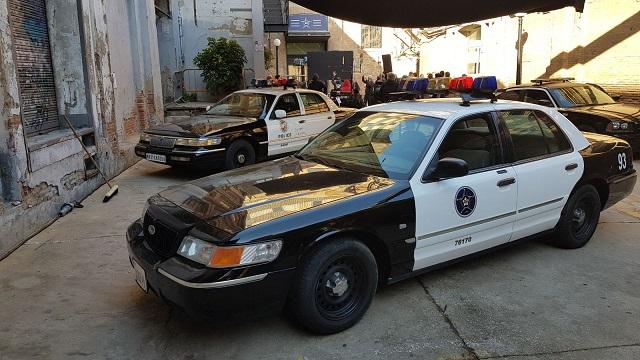 alquiler coche policia americano peliculas escena anuncios publicidad barcelona madrid