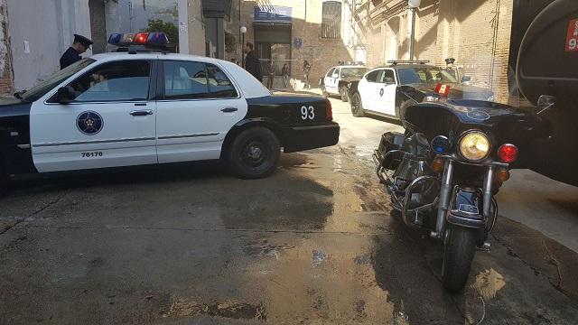 alquiler harley davidson policia americana patrol police peliculas anuncios tyreaction