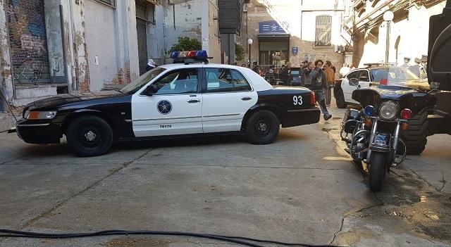 tyreaction alquiler coche policia americano ford crown victoria peliculas anuncios eventos