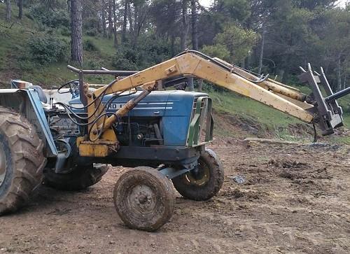 10684.3 Alquiler tractor azul