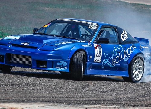 p0055  tyreaction alquiler drift coche carreras peliculas azul 2