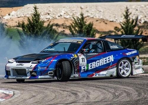 p0055  tyreaction alquiler drift coche carreras peliculas azul