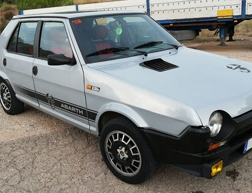 10689 Alquiler Seat Ritmo 75 Abarth For rent Prop Action Picture Vehicles in Spain Barcelona Madrid