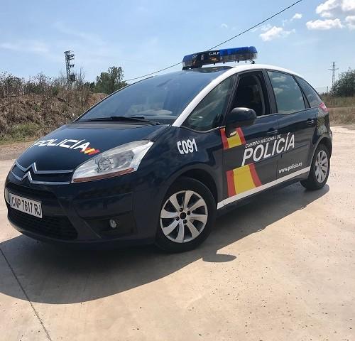 alquiler citroen picasso coche policia nacional vehiculos de escena tyreactin barcelona madrid front