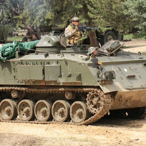 M002 Alquiler tanqueTanqueta militar ejercito pelicula anuncio tyreaction barcelona madrid 2