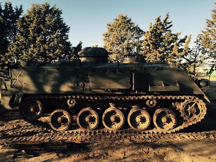 M002 Alquiler tanqueTanqueta militar ejercito pelicula anuncio tyreaction barcelona madrid