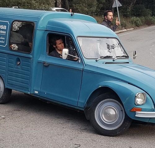 P0035 Alquiler Citroen Dyane AK 400 1973 azul